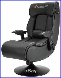 New X-Rocker Elite Pro PS4 Xbox One 2.1 Audio Faux Leather Gaming Chair-GB17