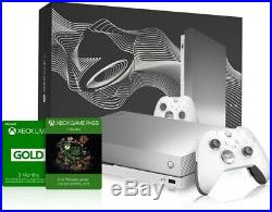 New Xbox One X Limited Platinum Taco Bell Edition with Elite Controller