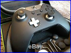 Official Microsoft Xbox One Elite Controller Boxed With All Accessories