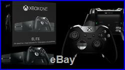 Official Microsoft Xbox One Elite Wireless Controller Black