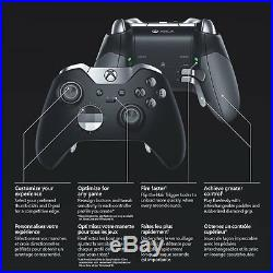 Official Microsoft Xbox One Elite Wireless Controller Black (HM3-00001) -READ UD