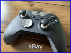 Official Microsoft Xbox One Elite Wireless Controller Black Used