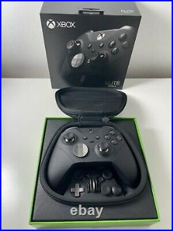 Official Microsoft Xbox One Elite Wireless Controller Series 2 Black Ex Display
