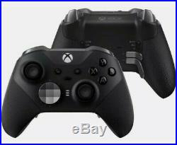 Official Xbox One Elite Wireless Controller Series 2 Black Brand New & Sealed