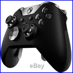 Open Box Microsoft Xbox One Elite Official Wireless Controller Black