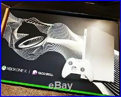 Platinum XBOX One X Taco Bell Limited Edition with Elite Controller BRAND NEW