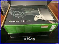 Platinum Xbox One X Taco Bell Edition with Elite Controller