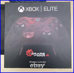 RARE Collectors Gears of War 4 Limited Edition Elite Controller. Sealed NEW