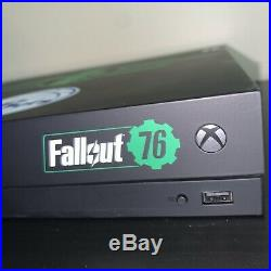 RARE Fallout 76 Philadelphia 76ers Xbox One X Radioactive Edition Console +Elite