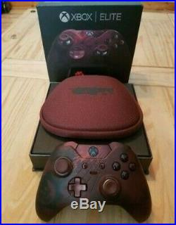 RARE Microsoft Xbox One Elite Gears of War 4 Limited Edition Wireless Controller