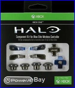 Rare Factory Sealed Halo Xbox One Elite Controller Component Kit By PowerA