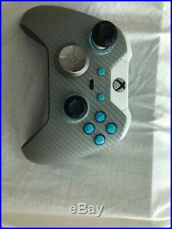 Scuf Xbox One Elite Custom Carbon Fiber Advanced Pro Game-Controller