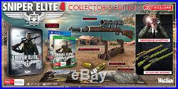 Sniper Elite 4 Collector's Edition Xbox ONE PAL NEWWarranty