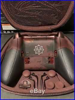 Super Rare Xbox One Gears Of War 4 Limited Edition Elite Controller FREE SHIP