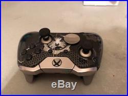 THE Black Night Custom Xbox One ELITE UN-MODDED WIRELESS Controller