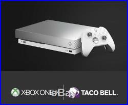 Taco Bell Xbox One X Platinum Limited Edition With Elite Controller And More