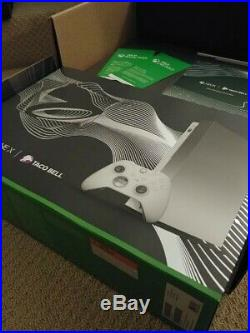 Taco Bell Xbox One X Platinum with Elite controller