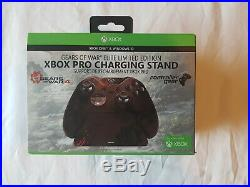 ULTRA RARE! Xbox One Gears of War 4 Elite Controller with Pro Charging Stand