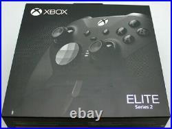 Used Microsoft Xbox One Elite Black Series 2 Controller in Box