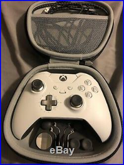 White Xbox One X With Elite Controller And Black Ops 4