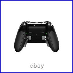 Working for Microsoft Xbox One MODEL1698 Elite Series1 Controller Wireless Black