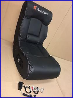 X-Rocker Elite Pro 2.1 Audio Faux Leather, PS4, Xbox One Gaming Chair N08