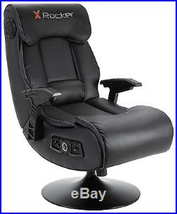 X-Rocker Elite Pro 2.1 Audio Faux Leather, PS4, Xbox One Gaming Chair RH45