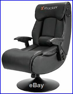 X-Rocker Elite Pro PS4 Xbox One 2.1 Audio Faux Leather Gaming Chair E45