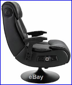 X-Rocker Elite Pro PS4 Xbox One 2.1 Audio Faux Leather Gaming Chair GO17