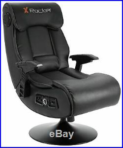 X-Rocker Elite Pro PS4 Xbox One 2.1 Audio Faux Leather Gaming Chair OE103