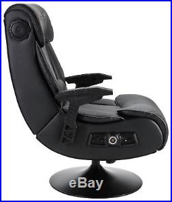 X-Rocker Elite Pro PS4 Xbox One 2.1 Audio Faux Leather Gaming Chair X345
