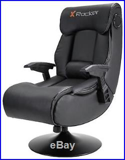 X-Rocker Elite Pro PS4 Xbox One 2.1 Audio Faux Leather Gaming Chair X45