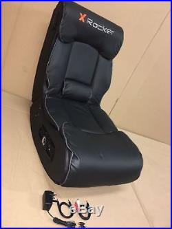 X-Rocker Elite Pro PS4 Xbox One 2.1 Audio Faux Leather Gaming Chair hr0201