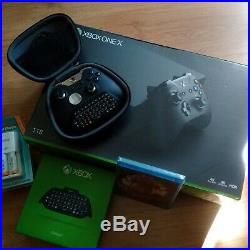 XBox One X 4K Custom Elite Bundle + Extras LNIB