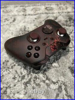 Xbox Elite Gears of War 4 Limited Edition Controller RED LED