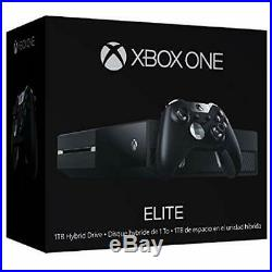 Xbox One 1TB Elite Controller Console Bundle Very Good 8Z