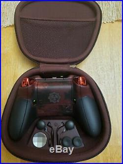 Xbox One Custom Gears of War Elite Controller