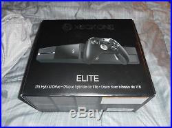 Xbox One Elite 1 Tb Hybrid Drive Model #1540-new Play & Charge Kit With Bin