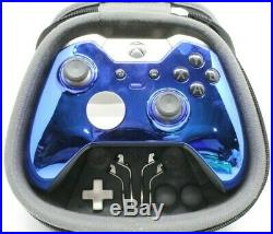 Xbox One Elite 7 Watts Rapid Fire Mod Controller withChrome Blue Face Plate