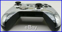 Xbox One Elite 7 Watts Rapid Fire Mod Controller withChrome Silver Face Plate