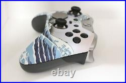Xbox One Elite 7 Watts Rapid Fire Mod Controller withSoft Touch Great Wave Face