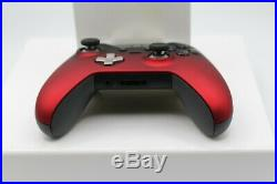 Xbox One Elite 7 Watts Rapid Fire Mod Controller withSoft Touch Red Shadow Face