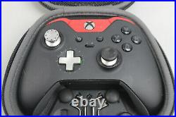 Xbox One Elite Black/Red Controller with Case