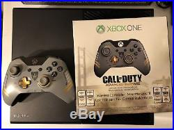 Xbox One Elite Console Bundle 1TB SSD, COD Advanced Warfare Controller, 5 Games