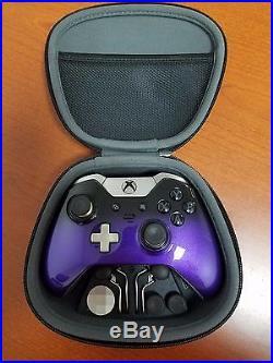 Xbox One Elite Controller Custom Painted Grape Fade