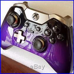 Xbox One Elite Controller Custom Painted -Purple Fade