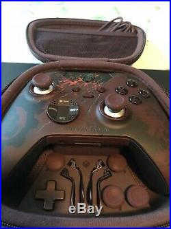 Xbox One Elite Controller Gears of War 4 Rare Dev Team 2016 (with Free Seagate)