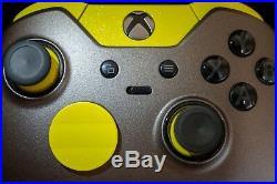 Xbox One Elite Controller Original Custom Design Yellow