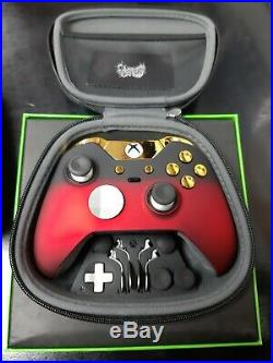 Xbox One Elite Controller Red ShadowCUSTOM LIMITED EDITION RED