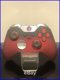 Xbox One Elite Controller Red ShadowCUSTOM LIMITED EDITION RED LED
